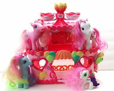 MY LITTLE PONY ROLLER SKATE PARTY CAKE WITH FOUR PONIES