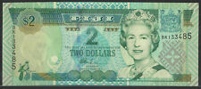 2002 FIJI 2 dollars UNC Notes.
