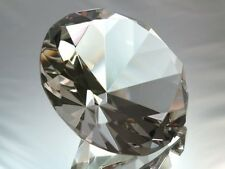 100mm Clear Crystal Diamond Jewel Paperweight