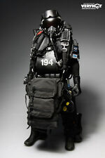 "Very Hot Toy 1/6 Scale 12"" Navy Seal Halo UDT Jumper Camo Dry Suit Accessory Set"