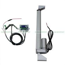 "1KW Single Axis Solar Panel Tracking System Kit 12"" Linear Actuator & Controller"