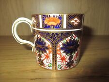 Royal Crown Derby Miniature Coffee Cup 1128 Imari Vintage  Dated 1921