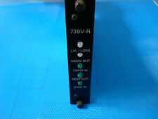 GE Fiber Options Universal Video Receiver Controller End - 739V1-R-R/1B