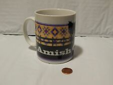 Coffee MUG - Amish Country - *Horse 'n Buggy* - Clean - Ceramic - (Free Ship.)