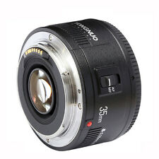 Yongnuo Auto Focus EF 35mm F/2 1:2 Wide-Angle Lens for Canon EOS Rebel Camera
