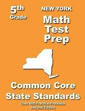 New York 5th Grade Math Test Prep: Common Core Learning Standards