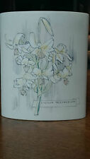 "Gorgeous Hornsea Lilium Testacium Oval Shaped Vase 6 5/8"" Tall x 5 5/8"" Wide"