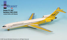 InFlight200 Northeast Yellowbird N1641 Boeing 727-200 1:200 Scale Mint in Box