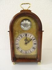 Warmink Wuba Dutch Shelf Mantel Clock (Junghans Kienzle Hermle Mauthe era)