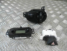 FORD FOCUS MK1 ZETEC 2004 LIGHT SWITCH & CLOCK & HAZZARD SWITCH