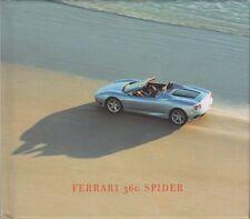 Ferrari 360 Spider Pressebooklet 2000