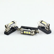 4x LED FESTOON BULB LIGHT HOLDER SOCKET PLUG IN ADAPTOR  31MM x 36MM UNIVERSAL