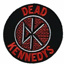 Dead Kennedys round logo iron-on / sew-on cloth patch  (cv)