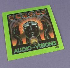 Kansas Original Backstage Pass -  Audio-Visions Tour 1980- Unused Stock !