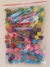 144 piece Plastic Headed Diaper Pins