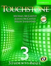 Touchstone Student's Book 3 with Audio CDCD-ROM (Touchstone)-ExLibrary