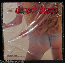 DIRECT DISCO-FULLY SEALED SEXY CHEESECAKE AUDIOPHILE LP-GINO DENTILE & FAMILY