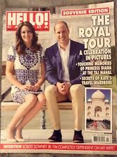 Prince William and Kate Middleton Hello Canada Magazine The Royal Tour Souvenir