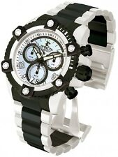 New Mens Invicta 13715 Arsenal Chronograph Swiss Made Two Tone Black SS Watch
