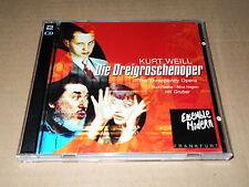 HK GRUBER/NINA HAGEN/WEILL/DIE DREIGROSCHENOPER/THE THREEPENNY OPERA/2 CD RCA