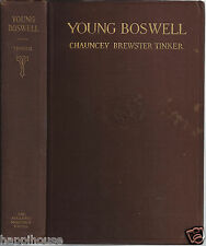 Young Boswell / James Boswell - Biographer 1922 Chauncey Brewster Tinker