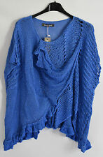 GORGEOUS GERMAN AMADINE cotton LAYERING TUNIC SZ L/XL BLUE SPECIAL PURCHASE