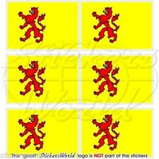 SOUTH HOLLAND Flag Netherlands Dutch Mobile Cell Phone Mini Decal-Sticker x6