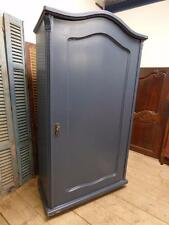 OLD FRENCH ARMOIRE - CUPBOARD - WARDROBE - 1 of a pair - ca72