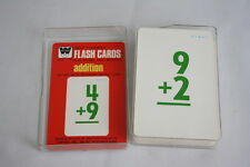 Vintage Whitman 80s Flash Cards Number Concepts No. 4570 Addition