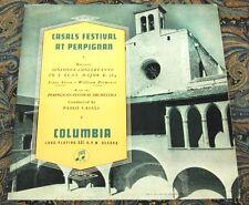 Casals Festival Perpignan 1951, Primrose - Mozart -  COLUMBIA UK LP 33CX-1089
