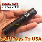 300 Meter 1200LM CREE XM-L T6 TACTICAL LED FLASHLIGHT 14500 Battery pocket Torch