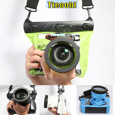 Waterproof Underwater Housing Case Dry Bag Pouch for Nikon Canon SLR DSLR Camera