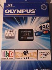 WIE NEU ! Olympus XD Speicherkarte 1 GByte Typ M mit OVP  M-XD1GM