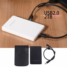 "USB 2.0 2.5"" Up To  Hard Drive DiskSATA HDD External Enclosure Case Cover Box"