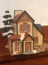 Lemax Vail Village - Train House Building - 1997 - #75256 - Used