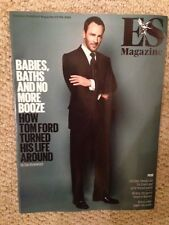 TOM FORD PHOTO COVER INTERVIEW LONDON ES MAGAZINE JUNE 2015