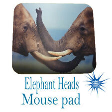 Elephant Heads Anti Slip PC Gamer Picture Mouse Pad