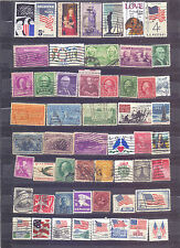 USA - 54 USED STAMPS - MIX OF VERY OLD & OLD - USED - C 219