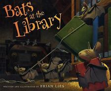 A Bat Book: Bats at the Library by Brian Lies (2014, Paperback)