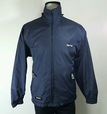 Nautica womens navy fleece lined reversible jacket Large