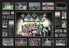 New Juventus Limited Edition Oversized Memorabilia Framed