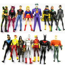 Gift 15pcs DC Universe Young Justice Jul ARTEMIS Batgirl Super Girl Figure M58