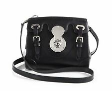 New Authentic Ralph Lauren Soft Ricky Crossbody Bag, Black. Retail $1750