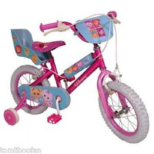 Childrens Lalaloopsy 14 POLLICI BICICLETTA-Girls' .