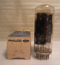 Philco 6C3G Ford Motors Vintage Electronic Electron Vacuum Tube In Box NOS