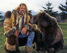 Grizzly Adams Dan Haggerty e Orsetto 10x8 Foto