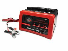 Battery Charger with Engine starter Jump Start Booster Cables 6 and 12 volts led