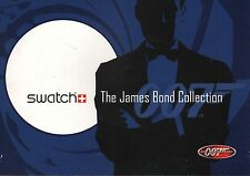 JAMES BOND RARE 40TH ANNIVERSARY SWATCH WATCH PROMOTIONAL CATALOG GREAT PHOTOS!