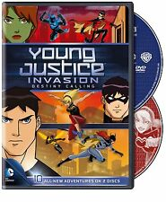Young Justice Invasion . Season 2 Episodes 1-10 . Destiny Calling . 2 DVD NEU