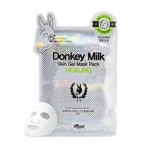 Freeset Donkey Milk Skin Gel Mask Healing Facial Sheet 1Pack (10ea)